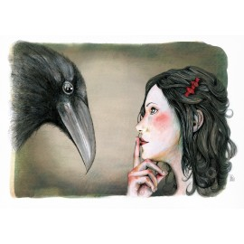 Rosabella and crow