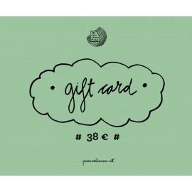 Tarjeta regalo 38€