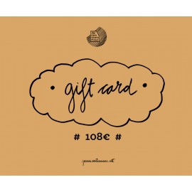 108€ Gift card