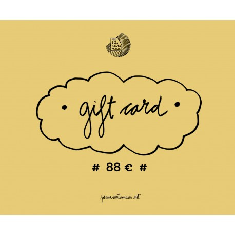 88€ Gift card