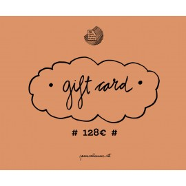 Tarjeta regalo 128€