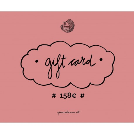 158€ Gift card