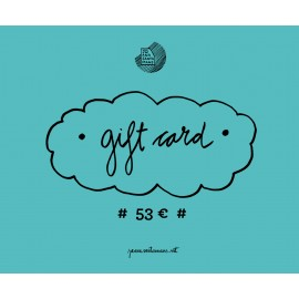 53€ Gift card